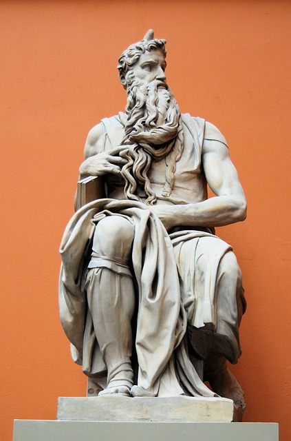 Statue, Sculpture, Museum, London, Moses