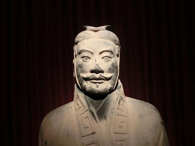 Xian, Warriors, Old, Statue, Museum, China