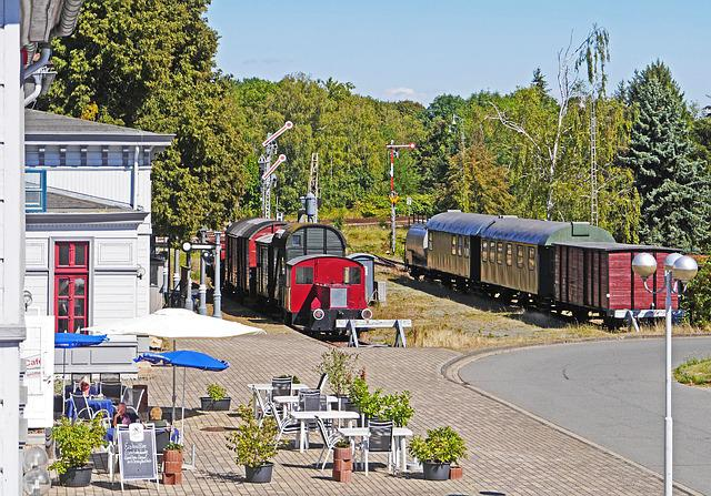 Vienenburg, Historic Train Station, Museum Train