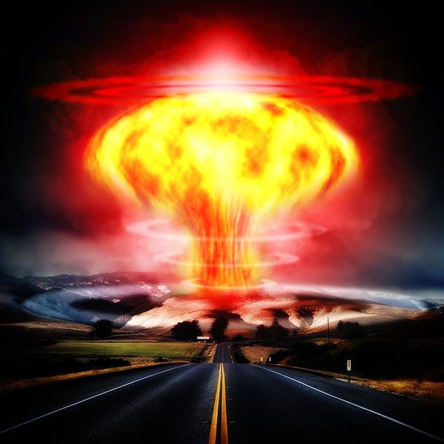 Nuclear Explosion, Mushroom Cloud, Atomic Bomb