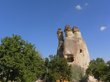 Turkey, Cappadocia, Mushrooms, Fairy Chimneys