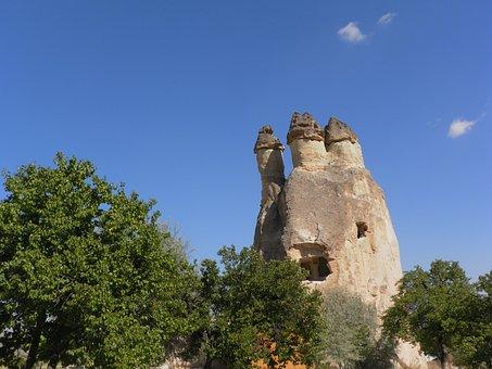 Turkey, Cappadocia, Mushrooms, Fairy Chimneys