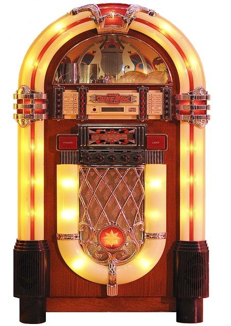 Jukebox, Fifties, Rock 'n' Roll, Music, Music Box