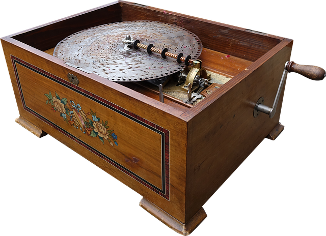 Music Box, Music, Nostalgic, Turntable, Record
