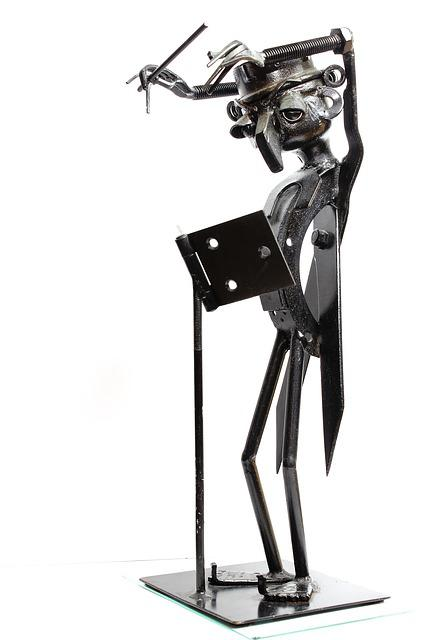 Isolated, Steel, Music Conductor, Stainless Figure