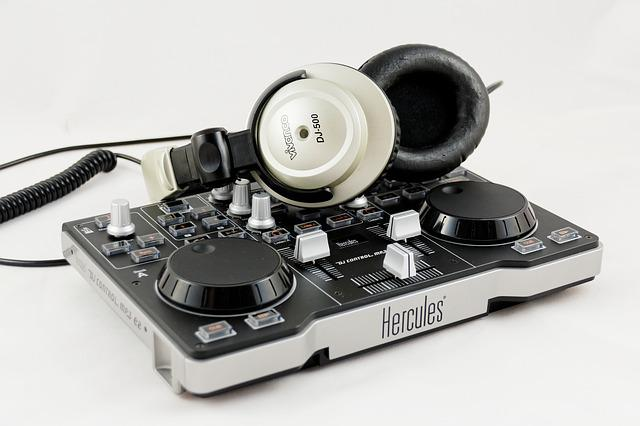 Mixer, Headphones, Audio, Entertainment, Music, Mp3, Dj