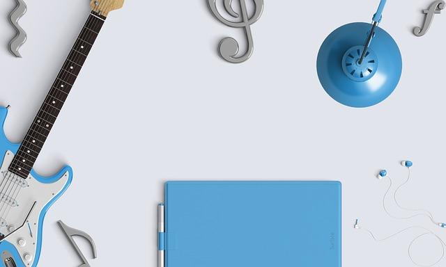 Music, Desktop, Audio, Earphones, Guitar, Earbuds