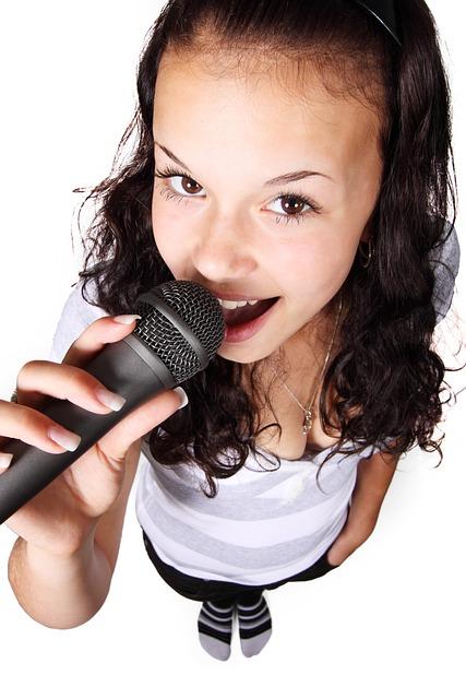 Audio, Female, Girl, Karaoke, Microphone, Music, Party
