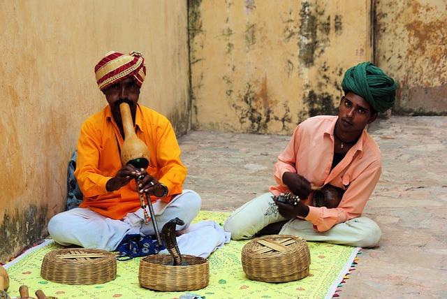 India, Snake, Music, Snake Charmer, Jaipur