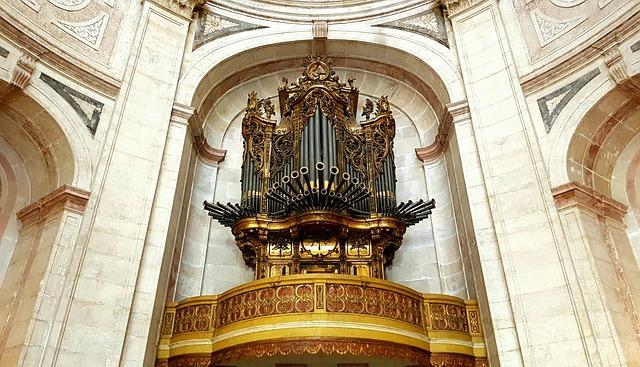 Church Organ, Organ, Instrument, Music, Church
