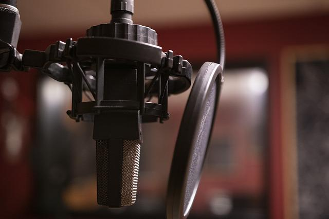 Podcast, Music, Studio, Microphone, Radio, Listening