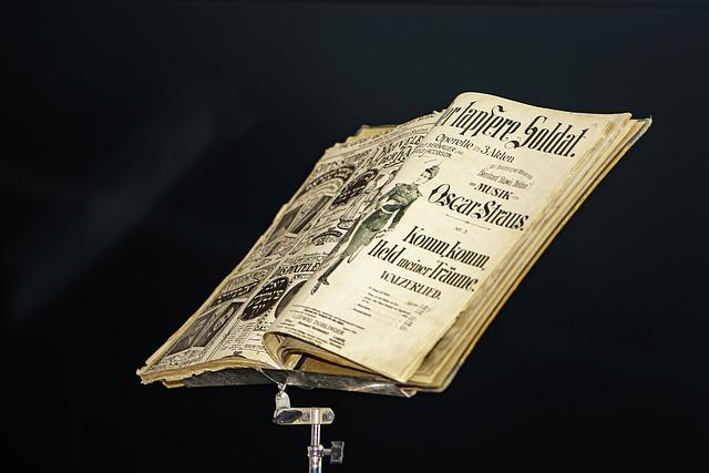 Music Stand, Old Print, Sheet Music, Music, Rare