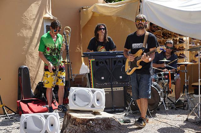 Musician, Music, Country Music, Ibiza, Street Musicians