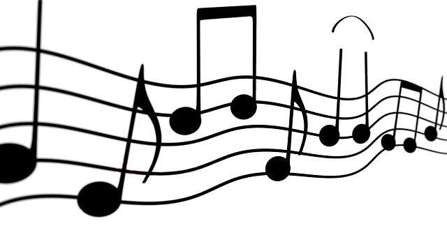 Music, Melody, Musical Note, Notenblatt, Background