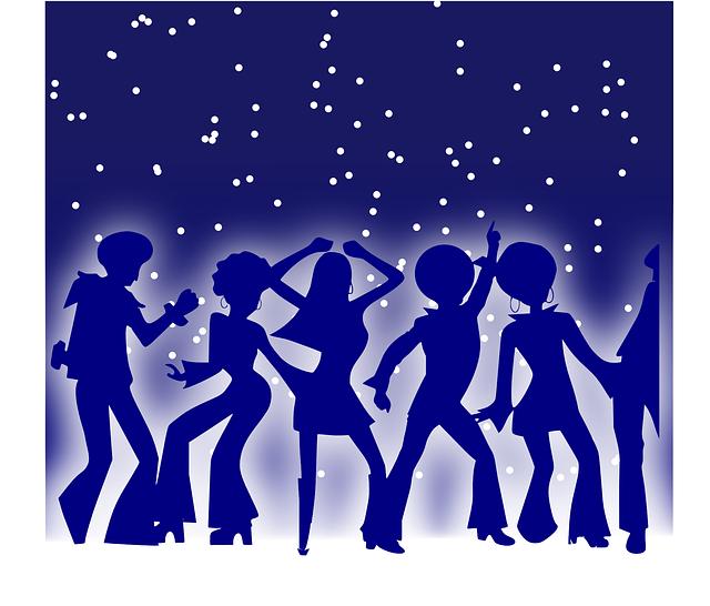 Party, Dancing, Dancer, Disco, Seventies, Music
