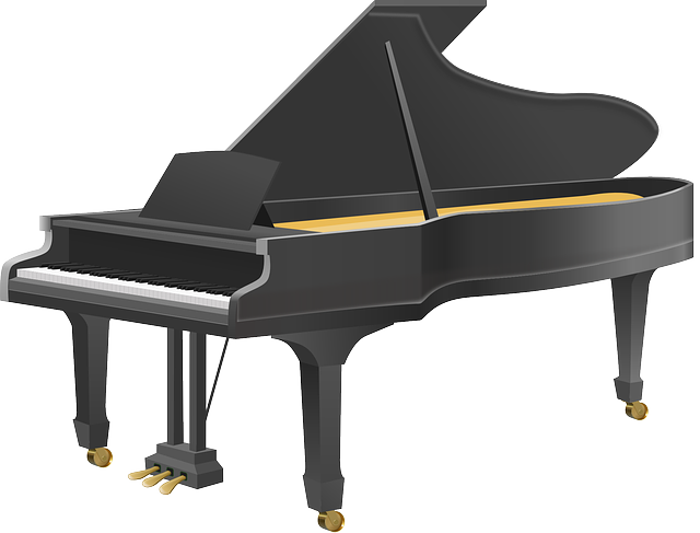 Grand Piano, Piano, Music, Musical Instrument