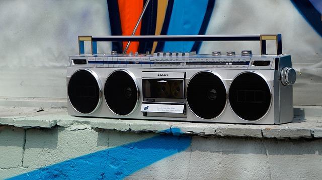 Ghetto Blaster, Boombox, Music, Radio, Audio Player