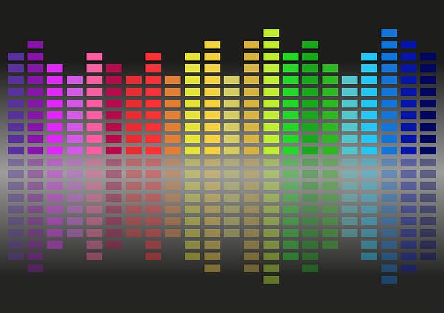 Equalizer, Music, Music Equalizer, Colors, Sound