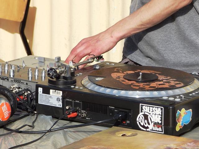 Music, Motherboard, Turntable, Dj, Needle, Sound
