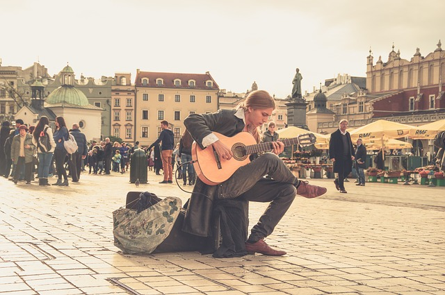 Musician, Guitarist, Streets, People, Music