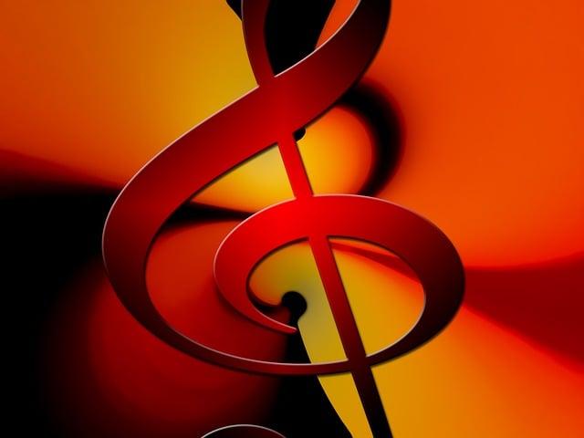 Clef, Music, Vibration, Movement, Dance, Tonkunst