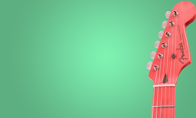 Music, Guitar, Two Color Combination, Background