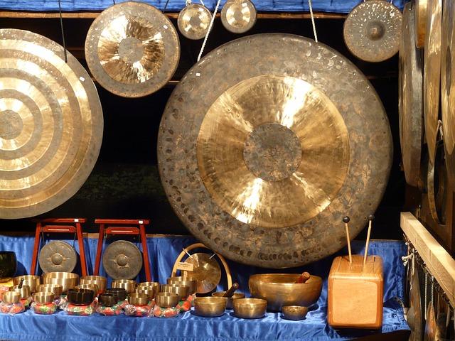 Gong, Mark Up Idiot, Self Tönendes, Musical Instrument