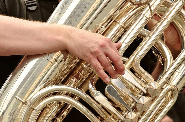Tuba, Brass Band, Musical Instrument, Marching