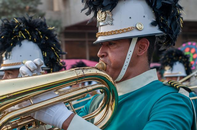 Musician, Marching, Trombone, Band, Instrument, Sound