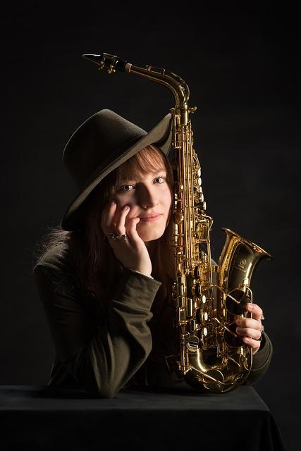 Saxophone, Music, Musician, Instrument