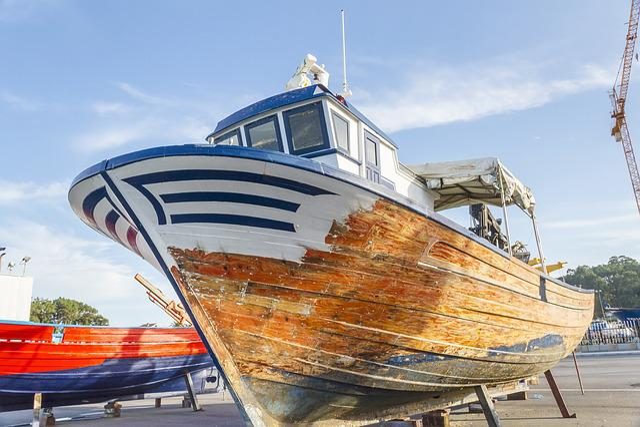 Ship, Boat, Aquaculture, Repair, Mussel, Transportation