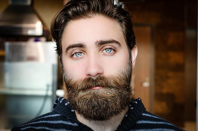 Beard, Face, Man, Model, Mustache, Person, Portrait