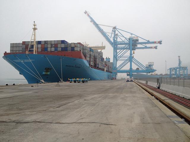 Container Ship, Mv2, Maasvlakte, Taps