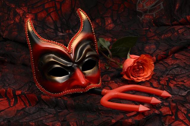 Mask, Carnival, Mysterious, Close, Romance, Carneval