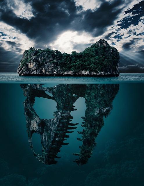 Mystery, Island, Secret, Background, Wallpaper