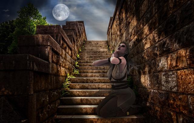 Fantasy, Mystic, Women, Compose, Photomontage, Mystery