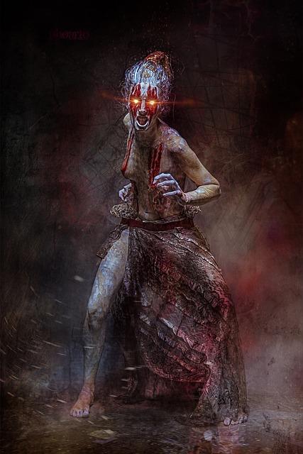 Free Photo Mystical Creepy Halloween Horror Weird Surreal