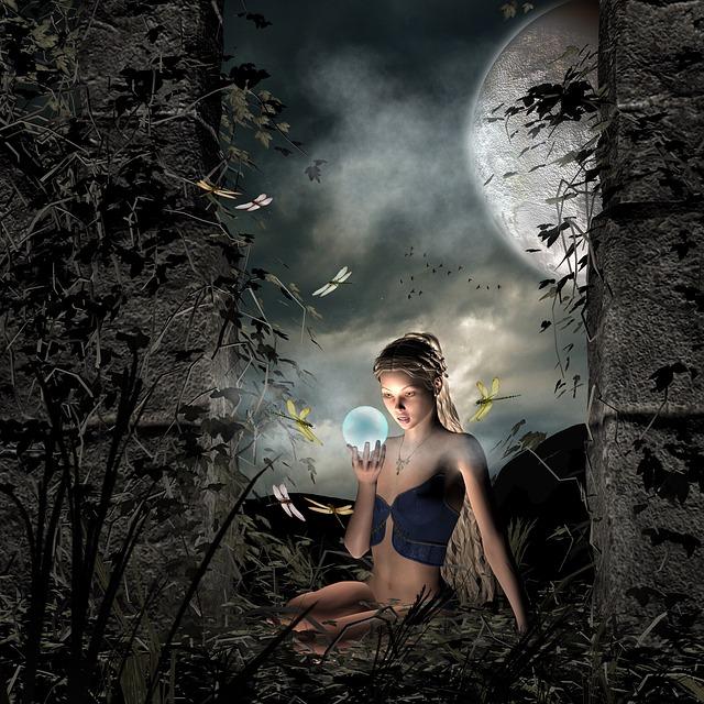 Forest, Elf, Mystical, Fairytale, Fairy Tales, Fee