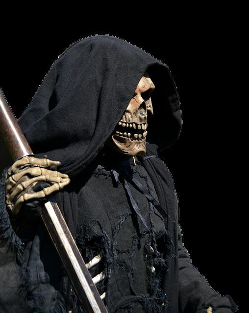 Death, Grim Reaper, Mystical, Scary, Creepy, Horror