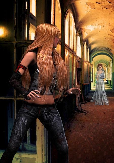 Woman, Magical, Mystical, Fantasy, Female, Magic, Ghost