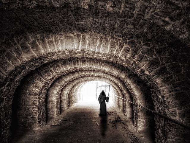 Tunnel, Passage, Underpass, Light, Mystical, Mood