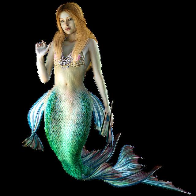 Mermaid, Water Creature, Mystical, Nature, Water