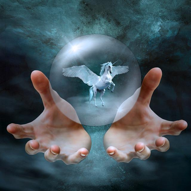 Cd Cover, Fantasy, Hands, Bubble, Ball, Wing, Mystical