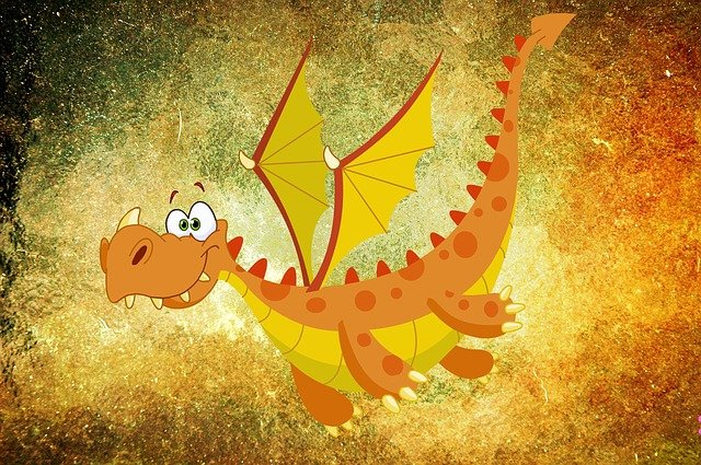 Dragon, Mythical Creatures, Monster, Drawing, Comic