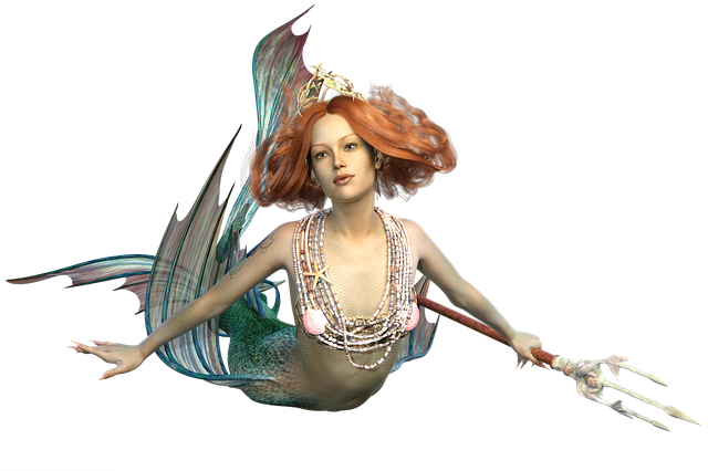 Mermaid, The Sea Maid, Mythical Creatures, Ocean