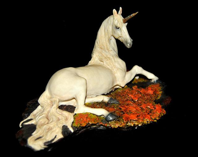 Unicorn, Fantasy, Mythical Creatures, Fig
