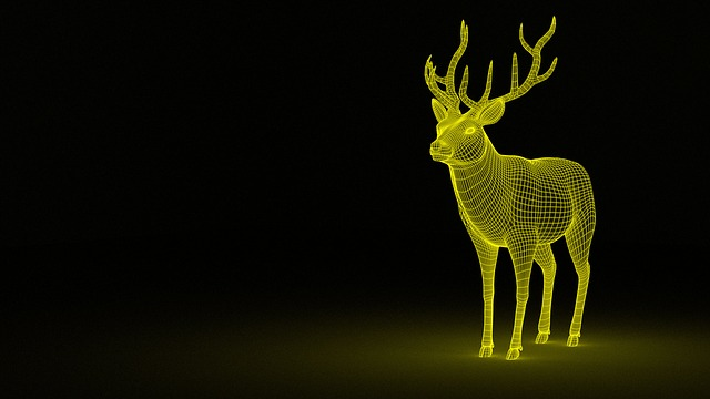 Deer, Dream, Animal, Fantasy, Mythology, Magic, 3d