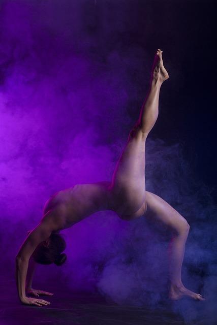 People, A, Naked, Adult, Woman, Sexy, Girl, Art, Yoga
