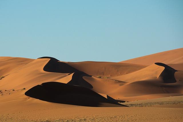 Desert, Sand, Namib, Dune