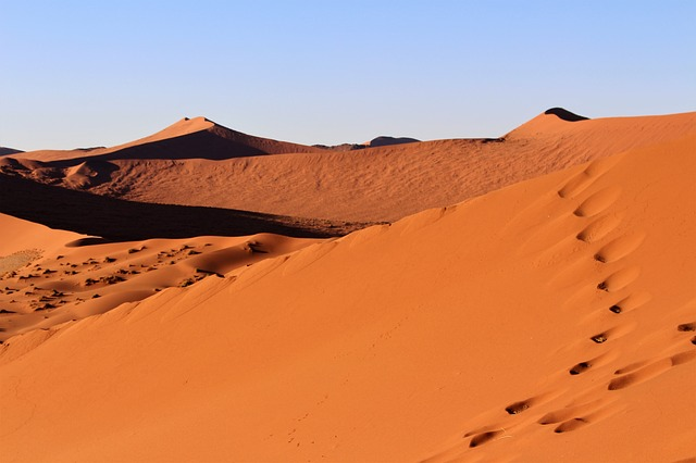 Dune, Namibia, Africa, Desert, Sand, Dry, Parched